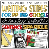 Writing Slides (for GOOGLE and PPT!)