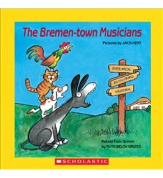 Writing Slides for Scott Foresman Reading Street: The Bremen Town Musicians
