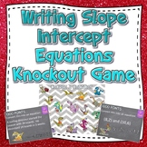 Writing Slope Intercept Equations Knockout Game