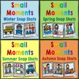Writing:  Small Moment Snap Shot Story Ideas Seasons Bundle