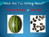 Writing Small Narrative Moments Powerpoint