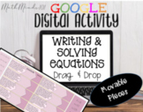 Writing & Solving Equations From Word Problems-DIGITAL-Goo