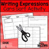 Writing Expressions with Exponents Card Sort