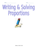 Writing & Solving Proportions