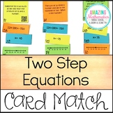 Writing & Solving Two Step Equations on a Number Line