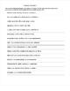 Writing Spanish Sentences and Sentence Scrambles