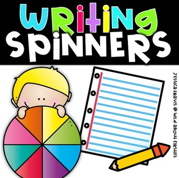 Writing Spinners {Story Starters, Characters, Setting, & Templates}
