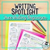 Writing Spotlight: 3-Sentence Writing Prompt Graphic Organ