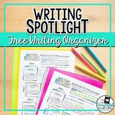 Writing Spotlight: 3-Sentence Writing Prompt Graphic Organ