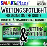 Writing Spotlight: Embedding Quotes in Writing (digital an