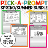 Picture Writing Prompts Spring and Summer Bundle