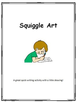 Writing-Squiggle Art