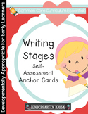 Writing Stages: Self-Assessment Anchor Cards