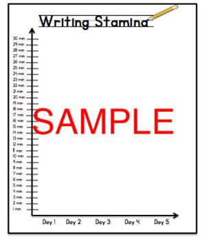 Writing Stamina
