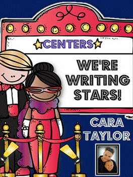 FREE Writing Stars Mini-Book Centers