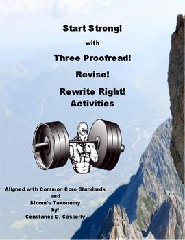 Writing: Start Strong!