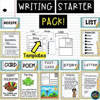 Writing Starter Pack