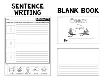 Themed Writing Station