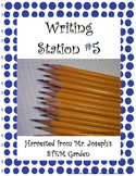 Writing Station 5