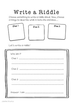Writing Station Activities