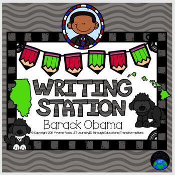 Writing Station Barack Obama