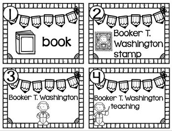 Writing Station Booker T. Washington