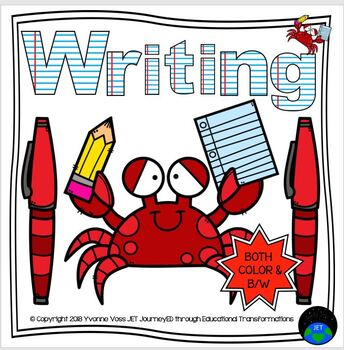 Writing Station Crabs