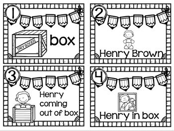 Writing Station Henry Box Brown