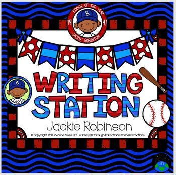 Writing Station Jackie Robinson