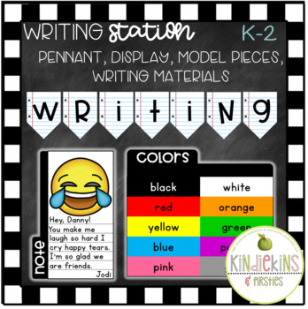Writing Station K-2