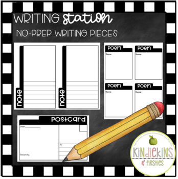 Writing Station K-2