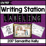Writing Station - Labeling