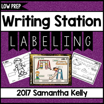 Writing Station: Labeling