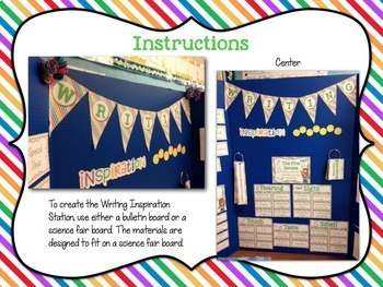 Writing Center Activities and Materials