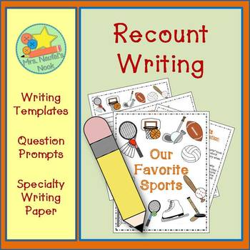 Recount Writing - Our Favorite Sports (American Spelling)