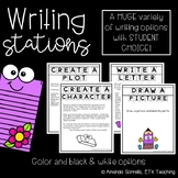 Writing Station Prompts