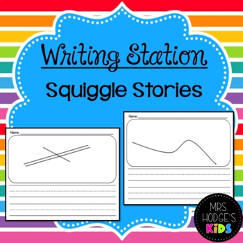 Writing Station- Squiggle Stories!