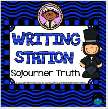 Writing Station Sojourner Truth