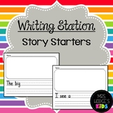 Writing Station- Story Starters!