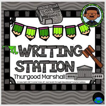 Writing Station Thurgood Marshall