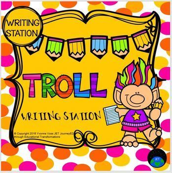 Writing Station Troll