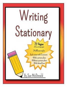 Writing Stationary Bundle-76 Pages of Fancy Paper to Inspi