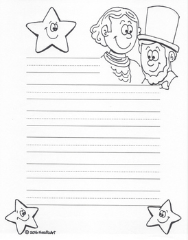 Writing Stationery Templates (Winter Holidays)