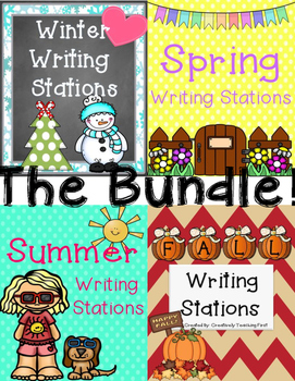 Writing Stations - All Year Long