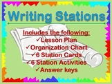 Writing Stations for Details, Clarity, Variety, Fragments,