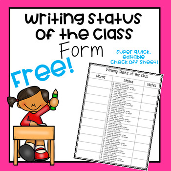 Writing Status of the Class Form
