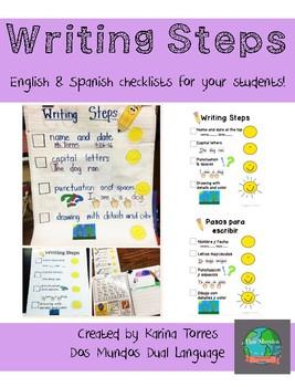 Writing Steps/Pasos Para Escribir