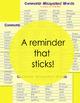 Spelling Sticker for Commonly Misspelled Words