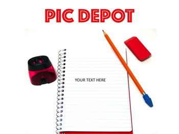 Writing Stock Photo Spiral Notebook Text Box
