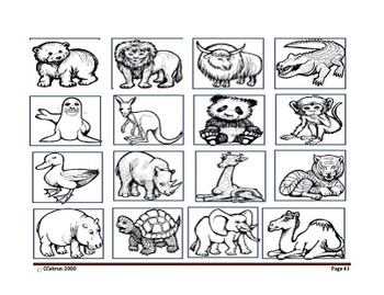 Writing Stories with Emergent Readers: One Day At The Zoo